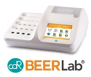 CDR BeerLab: the chemical analyzing system for beer quality control in every stage of brewing process in brewery