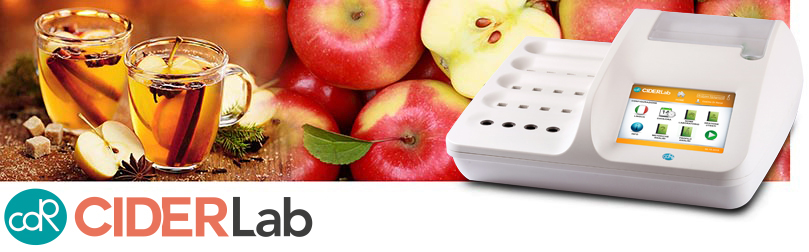 CDR CiderLab: the analysis system for cider to perform quality and process controls