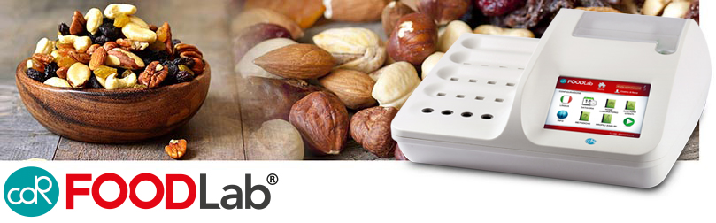 Chemical analyses for the determination of nuts oxidation status: CDR FoodLab guarantees reliable results in just a few minutes with no use of toxic solvents