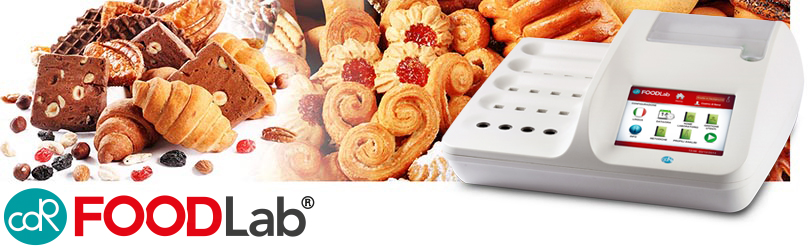 Determination of the shelf life of baked goods, snacks, spreads easily and fast without complicated extractions or toxic solvents with CDR FoodLab
