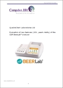 Evaluation of new features (VDK, yeast vitality) of the CDR BeerLab® Analyser - Campden BRI