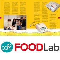 CDR FoodLab® for fried snacks and frying oil analysis on the December 2016 Issue of the Mexican magazine Dulcelandia.