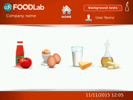 CDR FoodLab® is a versatile system that can be configured to analyze fats, oils, milk and dairyproducts, and tomato derivatives