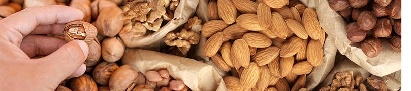 the analysis system to determine the rancidity of nuts