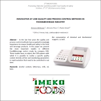 IMEKO FOODS conference October 2016
