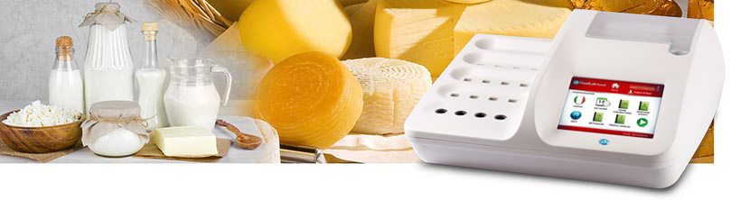 The chemical analysis of the milk and dairy products  for quality control in every stage of the production chain with CDR FoodLab