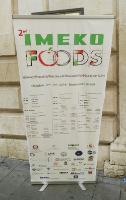 """Innovative at-line quality and process control methods in food&beverage industry - the speech, that Dr. Simone Bellassai held at the IMEKO FOODS conference """"Metrology Promoting Objective and Measurable Food Quality and Safety"""" in Benevento - October 2nd/5th 2016"""
