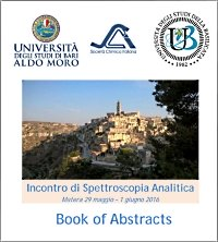 analytical Spectroscopy meeting ISA 2016