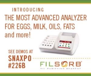CDR and Filsorb at Snaxpo for presentation and demos of food analysis with CDR FoodLab