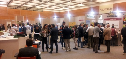 CDR WineLab, wine analysis system, at Enoforum 2013: visitors who attended the convention