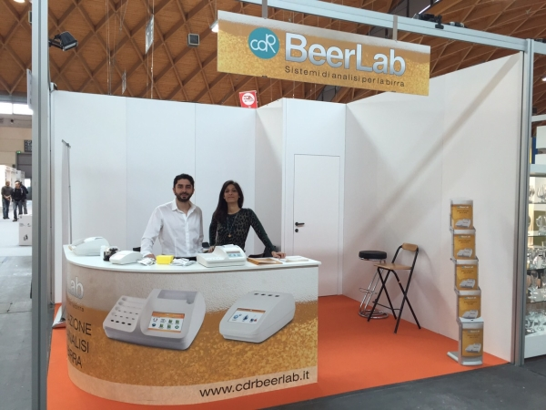 CDR BeerLab<sup>®</sup> booth at BeerAttraction, Rimini