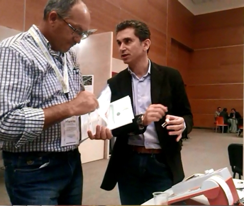 Enoforum 2013: interest and curiosoty for CDR WineLab, the CDR wine analysis system