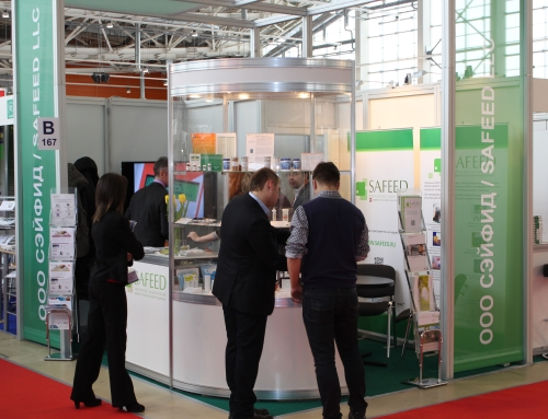 Safeed stand at the Dairy and Meat exhibit in Moscow and CDR FoodLab analysis products