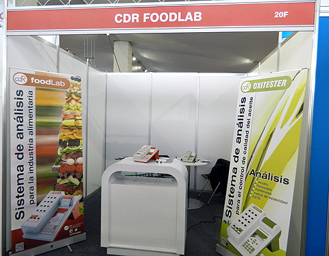 stand 20-F CDR presents analyzers for quality control of oils and fats, milk, wine and other food products