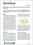 CDR FoodLab method for the determination of Lactose content in lactose-free dairy products