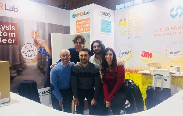 The teams CDR BeerLab and Sacco at BBTech 2018