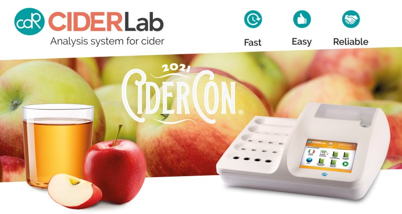 CDR CiderLab at the CiderCon 2021 (February 3 - 5)