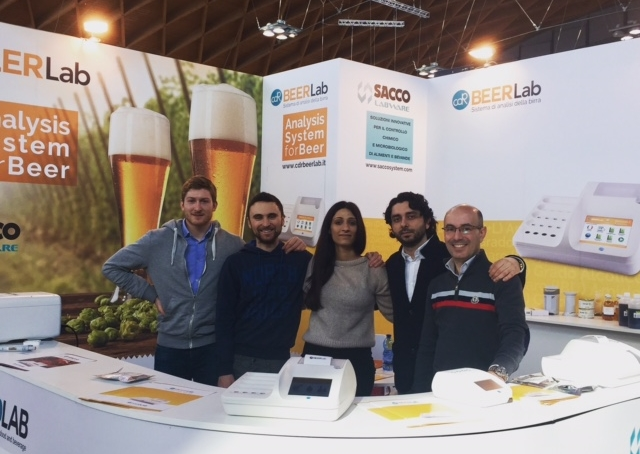 team CDR & team Sacco a BeerAttracion 2017,  trade exhibition dedicated to specialty and craft beers, technologies and ingredients