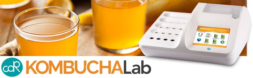 CDR KombuchaLab, a rapid, simple and reliable Kombucha analysis system to be used at all stages of the production process even without the assistance of personnel expert in laboratory techniques