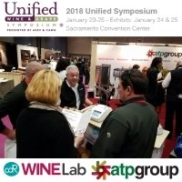 CDR Winelab At ATP Booth in the Unified Symposiun 2017 - Sacramento CA