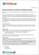 """Download """"Determining the rancidity of a bakery product"""""""