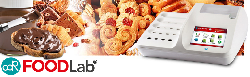 CDR FoodLab®: the analysis system to perform a complete quality control on bakery products, snacks and spreads.