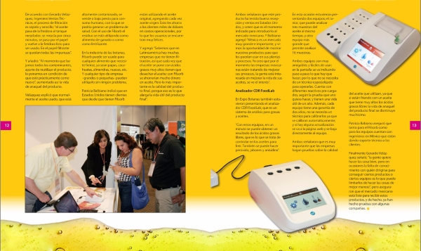 Dulcelandia December 2016 :  CDR FoodLab has been presented in the last edition of Expo Botanas, the most important exhibition of snack in Mexico.