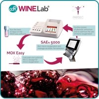 CDR WineLab and Parsec system for microoxygenation control