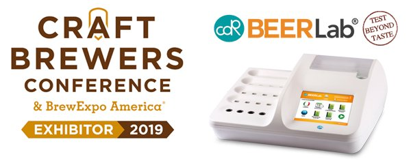 CDR BeerLab at Craft Brewers Conference 2019 - Denver