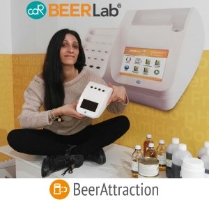 Giulia Chiarion CDR BeerLab sales specialist at BeerAttraction 2017